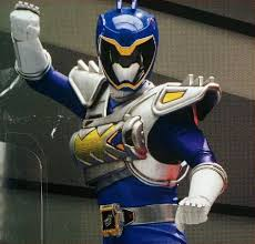 Koda Morphed As The Blue Dino Charge Ranger