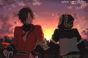 Koujaku and Noiz