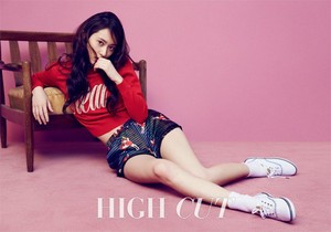 Krystal for 'High Cut'