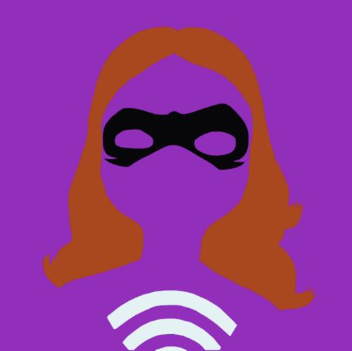 Miraculous Ladybug Hintergrund with a ski mask called Lady Wifi