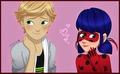 Ladybug and Adrien