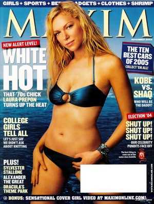 Laura Prepon - Maxim Cover - 2004