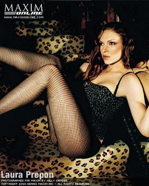 Laura Prepon - Maxim Photoshoot - 2001