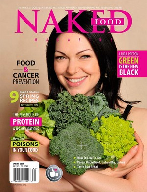 Laura Prepon - Naked Magazine Cover - 2014