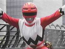 Leo Morphed As The Red Galaxy Ranger