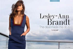 Lesley-Ann Brandt - Bello Magazine Photoshoot - 2016