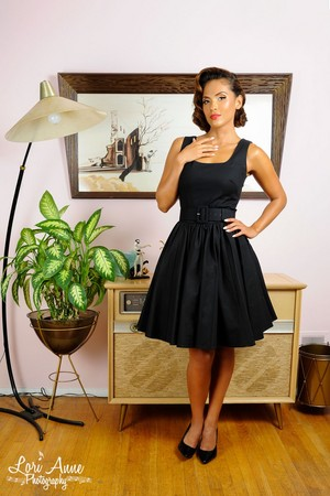 Lesley-Ann Brandt - Pinup Girl Clothing Photoshoot - Lana 鸡尾酒 Dress