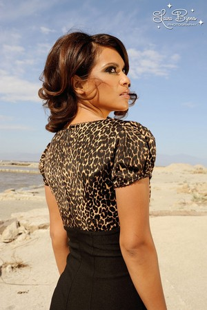 Lesley-Ann Brandt - Pinup Girl Clothing Photoshoot - Mary Ann Dress