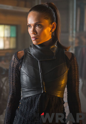 Lesley-Ann Brandt as Larissa Diaz (Copperhead) on Gotham - 'Lovecraft'