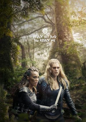 Lexa and Clarke