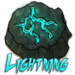 Lightning Rune - flight-rising icon