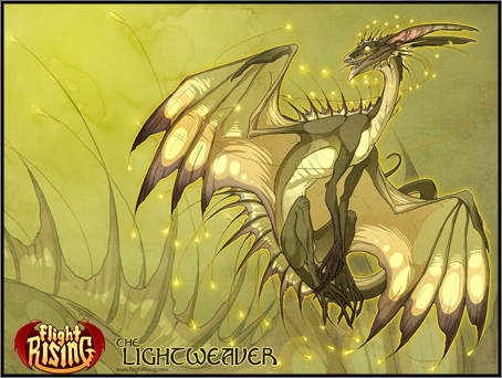 Flight Rising wallpaper with animê called Lightweaver