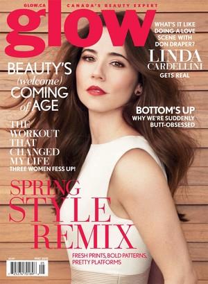 Linda Cardellini - Glow Cover - 2015