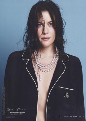 Liv Tyler - Vanity Fair Photoshoot - August 2014