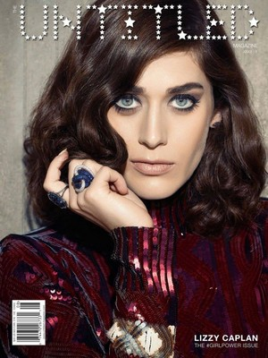 Lizzy Caplan - The Untitled Magazine Cover - September 2015
