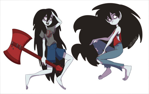 Adventure Time With Finn and Jake images Marceline HD ...