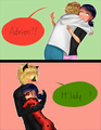 Marinette and Adrien/Chat Noir and Ladybug