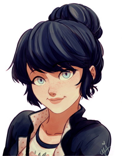 Miraculous Ladybug Hintergrund possibly containing Anime called Marinette