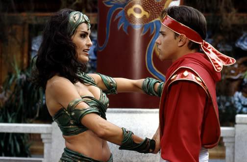 Mariska Hargitay as Dulcea in Mighty Morphin Power Rangers: The Movie (1995)