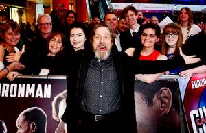 Mark Hamill at the premiere of Captain America: Civil War