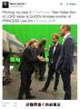 Mark Hamill meets the royals