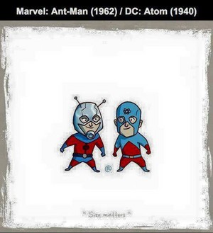 Marvel vs DC - Ant-Man / Atom