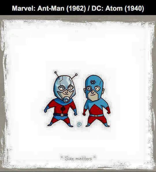 Marvel vs DC - Ant-Man / Atom