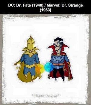 Marvel vs DC - Dr Strange / Dr Fate