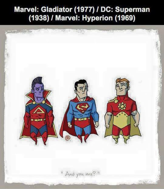 Marvel vs DC - Hyperion / Gladiator
