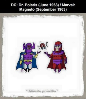 Marvel vs DC - Magneto / Dr Polaris