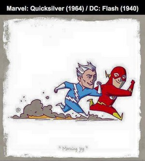 Marvel vs DC - Quicksilver / Flash