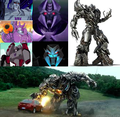 Megatron/Galvatron - transformers photo
