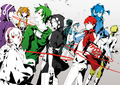 Mekaku City Actors  - anime wallpaper