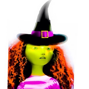 Merida as a Witch