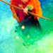 Merida watercolor icon  - disney-princess icon