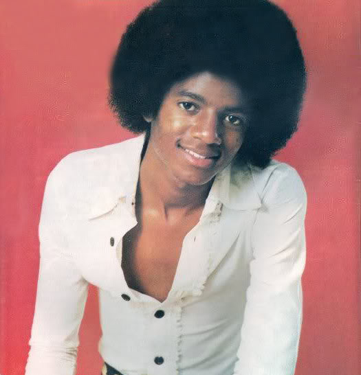 Michael Jackson c. 1976/7