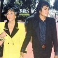 Michael et Liz Taylor  - michael-jackson photo