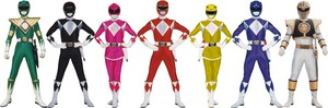 Mighty Morin power rangers
