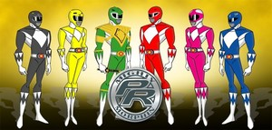 Mighty morphin power rangers clip art