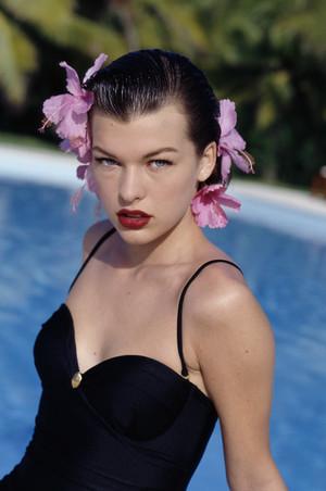 Milla Jovovich - Calliope Grigorea Photoshoot - 1992
