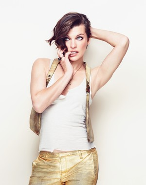 Milla Jovovich - Cosmopolitan Photoshoot - 2012