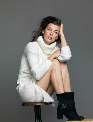 Milla Jovovich - El Corte Ingles Photoshoot - 2014