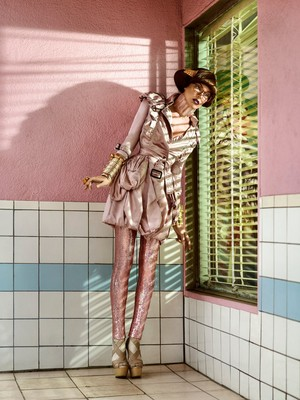 Milla Jovovich - Harper's Bazaar Singapore Photoshoot - 2010