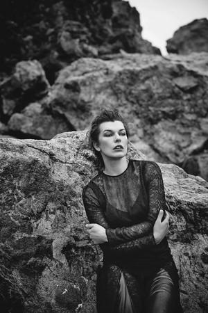Milla Jovovich - Harper's Bazaar Spain Photoshoot - 2016