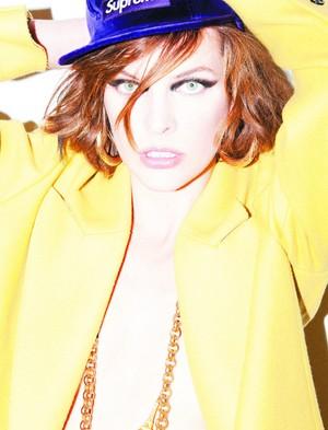 Milla Jovovich - Jalouse Photoshoot - 2011