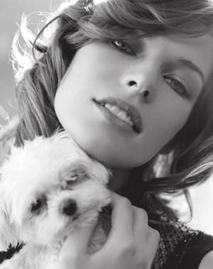Milla Jovovich - Le Parisien Photoshoot - 2011
