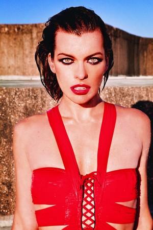 Milla Jovovich - Marie Claire Russia Photoshoot - 2011