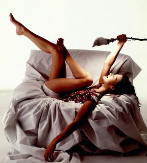 Milla Jovovich - Michael Tighe Photoshoot - 1992