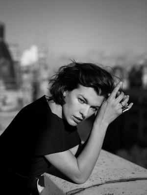 Milla Jovovich - The edit Photoshoot - 2013