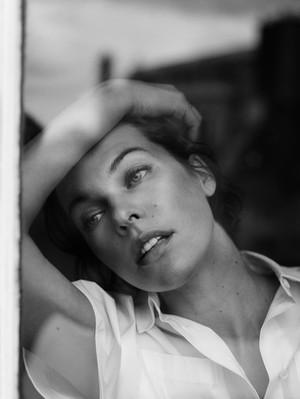 Milla Jovovich - The ubah Photoshoot - 2013